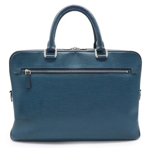 LOUIS VUITTON Epi Porto Documan Business PDB Bag Leather Blue Celeste M54043