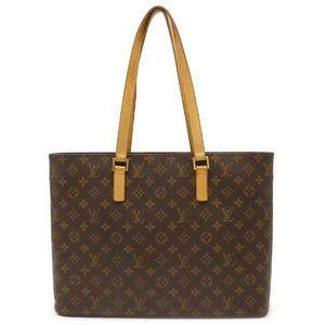 LOUIS VUITTON Monogram Luco Tote Bag Shoulder M51155