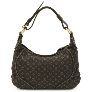 LOUIS VUITTON Monogram Mini Run Manon PM Shoulder Bag Semi-shoulder One-shoulder Ebene M95621
