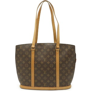 LOUIS VUITTON Monogram Babylon Tote Bag Shoulder M51102