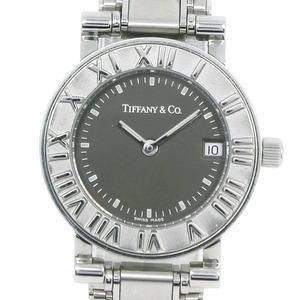 TIFFANY & Co. Tiffany Atlas Stainless Steel Quartz Ladies Gray Dial Watch