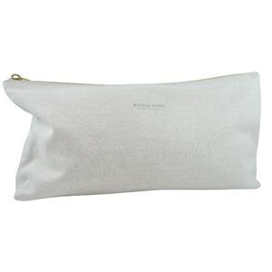 Bottega Veneta BOTTEGAVENETA bag-in-bag canvas beige unisex pouch