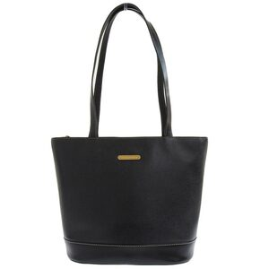 Burberry Tote Bag Leather Black