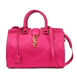 SAINT LAURENT Shoulder bag Handbag Cabas Pink Ladies