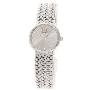 Piaget 8059D2 11P Diamond Watch K18 White Gold K18WG Ladies