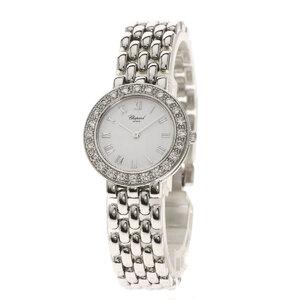 Chopard 10 6206 Classic Watch K18 White Gold Diamond Ladies