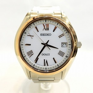 Seiko Dolce & Exceline SADZ200 Watch Men's Solar
