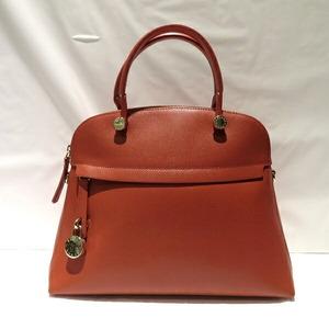 Furla Viper G5996 / S5 Orange Gold Hardware 2WAY Bag Shoulder Ladies