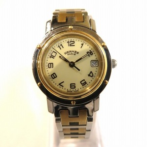 Hermes Clipper CL4.220 Watch Ladies
