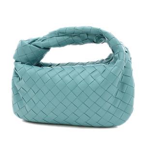 Bottega Veneta Jody Handbag Clutch Leather Linoleum 609409