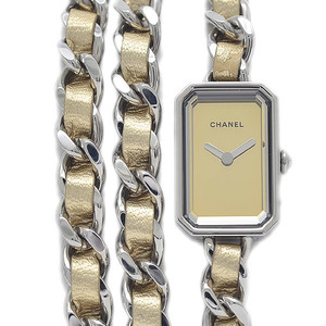 Chanel Premiere Rock Ladies Mirror Dial Stainless Steel Leather Quartz Limited to 1000 H5583 Watches