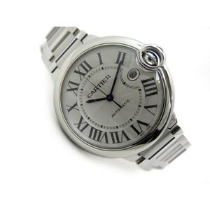 Cartier Ballon Bleu Automatic Stainless Steel Men's Dress Watch W69012Z4