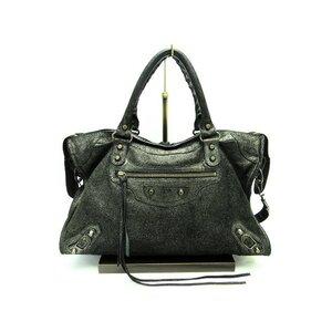 Balenciaga The City 10th Anniversary Classic Editor's Bag Shoulder 115748