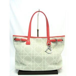 Christian Dior Panarea Canvas Enamel Tote Bag