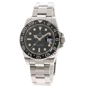 Rolex 116710LN GMT Master 2 Stick Dial Watch Stainless Steel Men