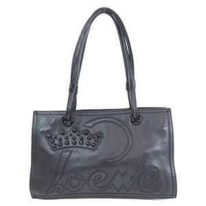 Loewe Logo Studded Tote Bag Calf Ladies