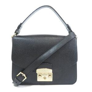 Furla Metropolis 2WAY Shoulder Bag Leather Ladies