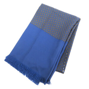 Hermes harness motif stall silk unisex