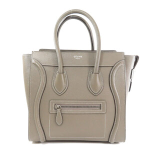 Celine Luggage Micro Tote Bag Calf Ladies