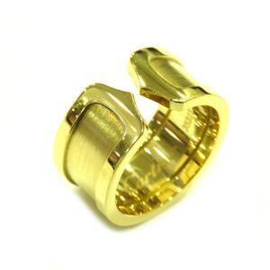 Cartier C2 Ring LM Ladies Gold K18YG 750 Yellow No. 12