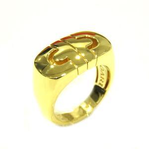 BVLGARI Bulgari Parentesi Ring Gold K18YG 750 Yellow No. 10