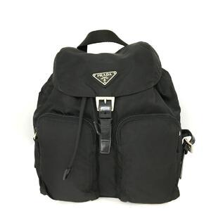 PRADA Prada Rucksack Backpack Men's Black Nylon 1BZ005