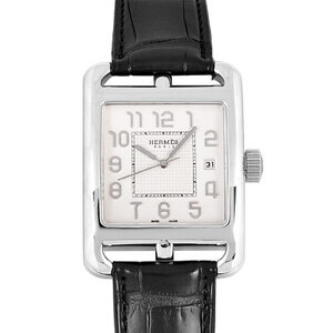 Hermes HERMES Cape Cod HES CD1.890 K18 White Gold Men's Watch Automatic Dial See-Through Back