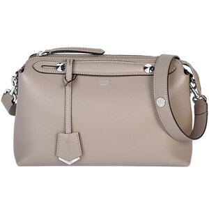 FENDI 2way handbag by the way medium leather beige 8BL124 1D5 F0NJ3