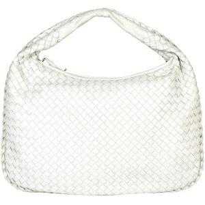 BOTTEGA VENETA Intrecciato One Shoulder Bag Hobo White 115653