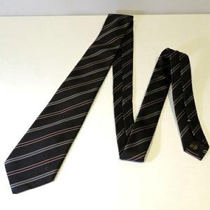 Louis Vuitton Silk Striped Tie Men's