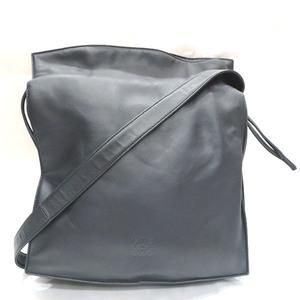 Loewe LOEWE Black Lambskin Bag Shoulder Unisex