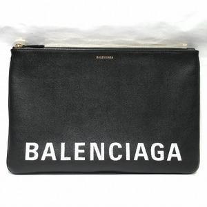 Balenciaga 529313 Black Bag Clutch Unisex