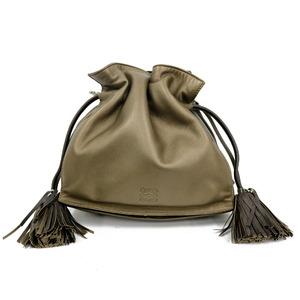 LOEWE Loewe Shoulder Bag Flamenco Bronze Ladies