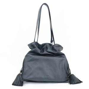LOEWE Loewe Shoulder Bag Flamenco Black Ladies