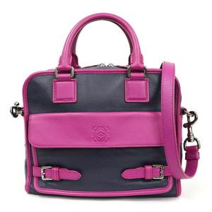 LOEWE Loewe Shoulder Bag Handbag Cruz Purple Ladies