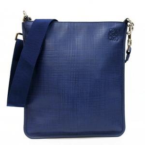 LOEWE Loewe Shoulder Bag Leather Navy Women's Men's