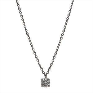 ティファニー(Tiffany) Pt950(プラチナ) ダイヤモンド レディース ファイン ペンダント カラット/0.25 ソリティア