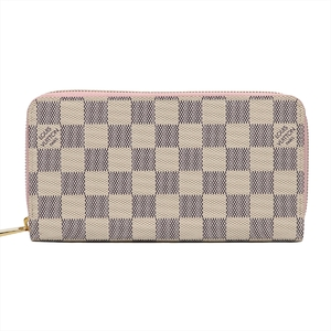 ルイ・ヴィトン(Louis Vuitton) ダミエアズール ジッピーウォレット レディース ダミエキャンバス 財布 アズール