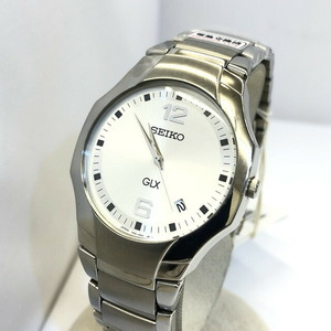 SEIKO Seiko Watch Analog GLX 7N32-0CM0 Quartz Silver Dial Date Stainless Steel JAPAN Koma Men's
