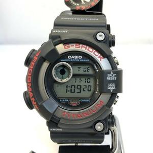 G-SHOCK CASIO Casio watch DW-8200-1A FROGMAN Frogman black red titanium digital quartz men's
