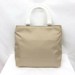 GIVENCHY Givenchy Handbag Beige Nylon Canvas Ladies