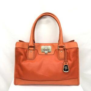COLE HAAN Cole Haan Handbag 2WAY Orange Shoulder Bag Leather Charm Ladies