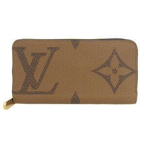 LOUIS VUITTON Giant Monogram Reverse Zippy Wallet M69353 Leather