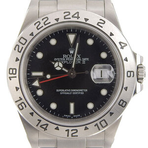 Rolex ROLEX Explorer 2 Men's Automatic Black Dial 16570 P Series Watches