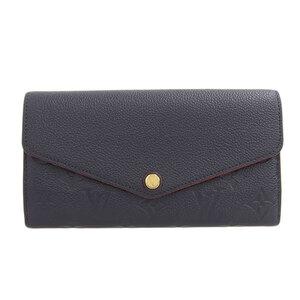 LOUIS VUITTON Monogram Amplant Sala Marine Rouge M62125 Leather Wallet
