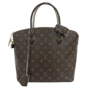LOUIS VUITTON Monogram Rock It Shiny Handbag M40597 Leather Bag