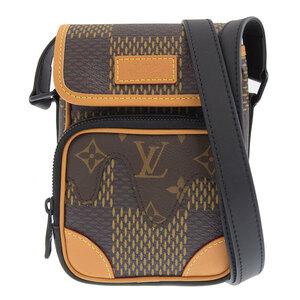 LOUIS VUITTON Squared Giant Amazon Messenger N40357 Leather Bag