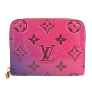 LOUIS VUITTON Verni Zippy Coin Purse Gradation M64159 Leather Wallet