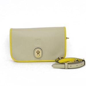 LOEWE Loewe Shoulder Bag Beige Ladies