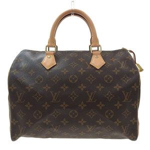 LOUIS VUITTON Monogram Speedy 30 Handbag M41108 Leather Bag
